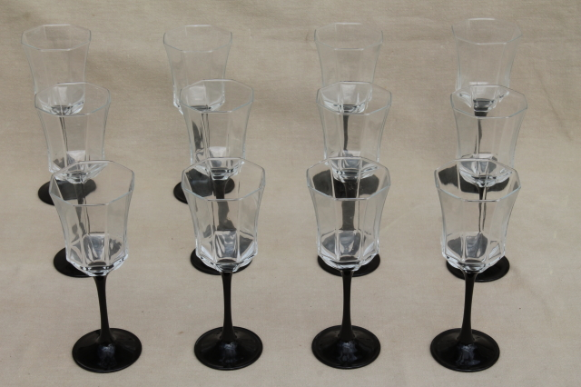 Frosted Water Glasses