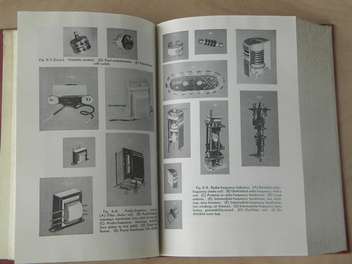 1940s out of print technical book radio servicing theory & practice