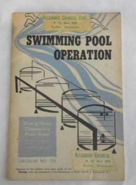 1940s public swimming pool operation with photos Dept of Public Health