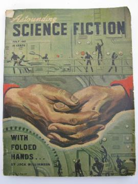 1940s vintage pulp sci-fi stories, Astounding Science Fiction, Poul Anderson