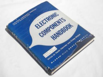 1950s vintage. military electronic components engineering handbook
