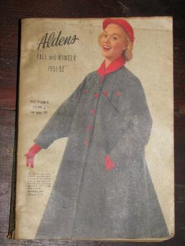1951 - 52 Fall / Winter vintage Aldens big book catalog
