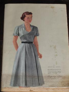 1952 Spring / Summer vintage Montgomery Wards big book catalog