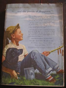 1953 Spring / Summer vintage Sears big book catalog