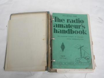 1960 edition ARRL The Radio Amateur Handbook