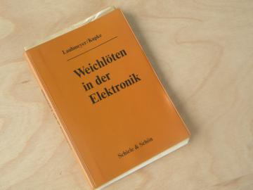 1960s out of print German technical book on soldering electronics