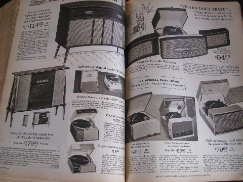 1961 Spring Summer Vintage Sears Big Book Catalog