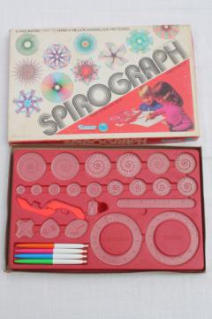1970s vintage Kenner Spirograph set #1421, complete in box