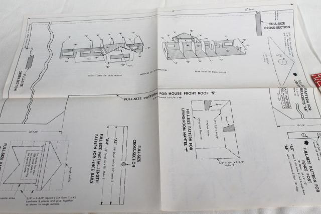 1970s vintage woodworking pattern for mid-century Ranch ... on wooden toy car plans, wooden toy train plans, black box plans, tool tote plans, serenity plans, er plans, bookcase plans, sanctuary plans, woodworking plans, wooden pull toys plans, life plans, firefly plans, floor plans,