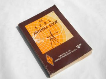 1974 ARRL Antenna Book technical illustrations for shortwave/ham radio