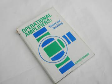 1975 technical book Operational Amplifiers, theory and servicing