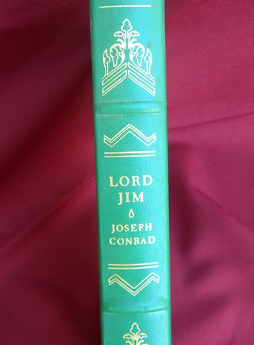 1980 Lord Jim/Conrad Franklin Mint Library leather and gilt art binding