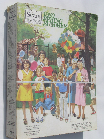 1980 Spring / Summer Sears catalog, retro kitchenware, tools