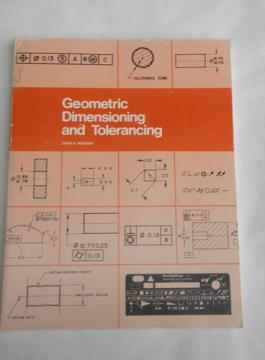 1980s engineer/draftsmen workbook geometric dimensioning/tolerancing