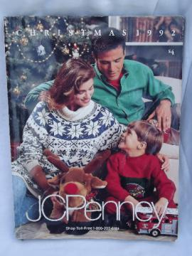 1992 Christmas catalog from J C Penney, photos and prices 20 years old!