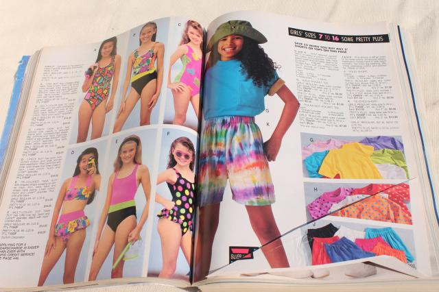 1992 vintage Sears big book catalog - fashion, home decor, electronics 25 years ago