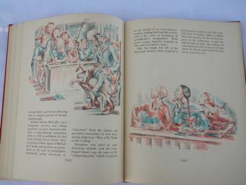1st edition The Rainbow Book of American History w/color illustrations