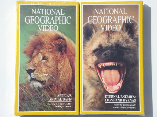 20 Vhs Tapes National Geographic Video Tapes Lot Many