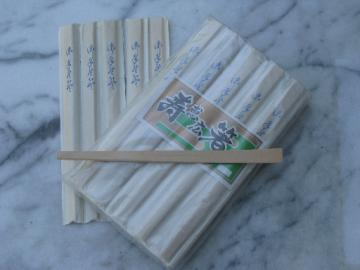 30 individually wrapped sets of chopsticks, disposable wood chop sticks