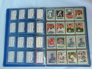 55+ retro 1991 and 1992 Cracker Jack mini baseball cards in album