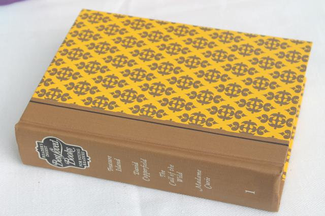 60s vintage Reader's Digest Best Loved books for Young Readers, classic library w/ lovely bindings