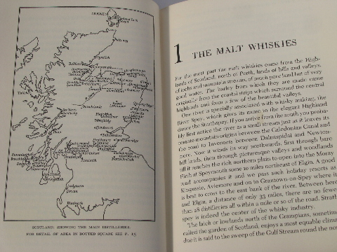 60s vintage guide & history of the Whiskeys of Scotland