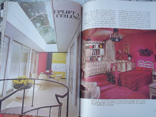 60s Vintage Home Decor Magazines Lot Retro Mod Furniture Decorating