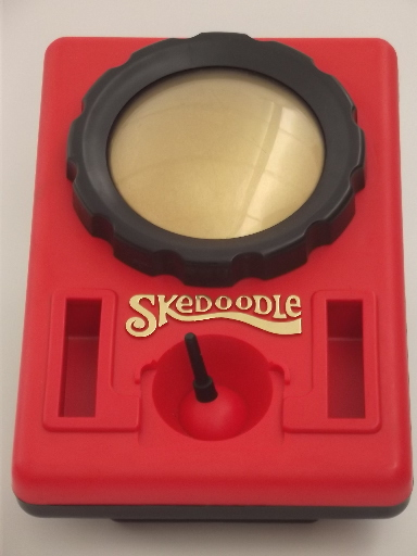 70s Skedoodle drawing toy in box, retro vintage Hasbro ...