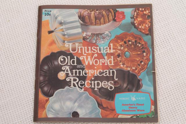 70s Vintage Nordicware Cookbook Ethnic Amp Holiday Recipes