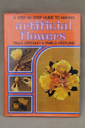 70s vintage artificial flowers how to book flower patterns 70s vintage artificial flowers how to book flower patterns instructions mightylinksfo