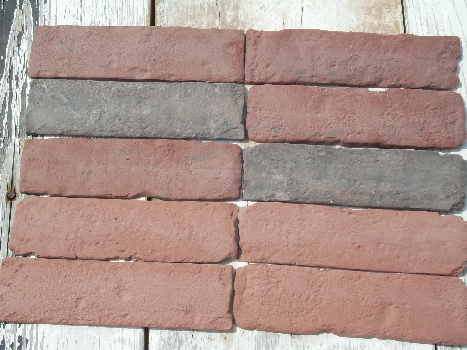 Faux Brick Tiles Tile Design Ideas