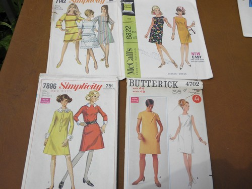 70s Vintage Sewing Patterns Retro Hippie Pants Tops Juniors Dresses