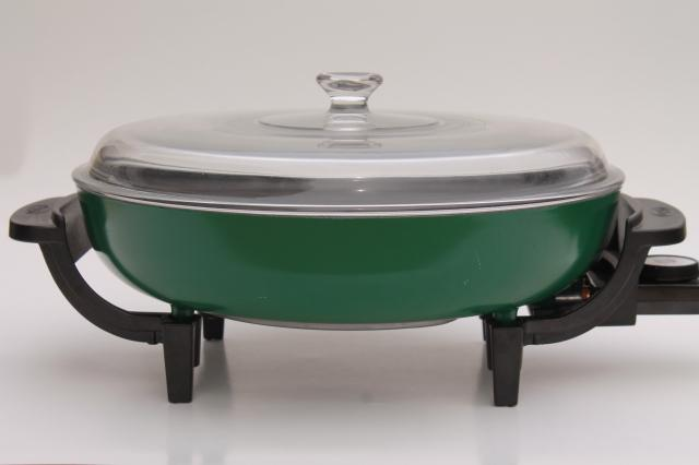 8025 dazey electric skillet frying pan cooker party chef