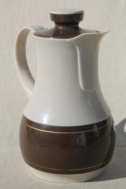 80s Vintage Ingrid Plastic Pitcher Insulated Thermos