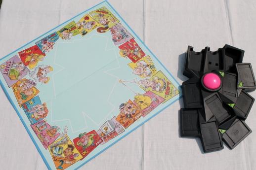 Kitchen Game 90s vintage Outta Control board game w/ buzzer, complete ...