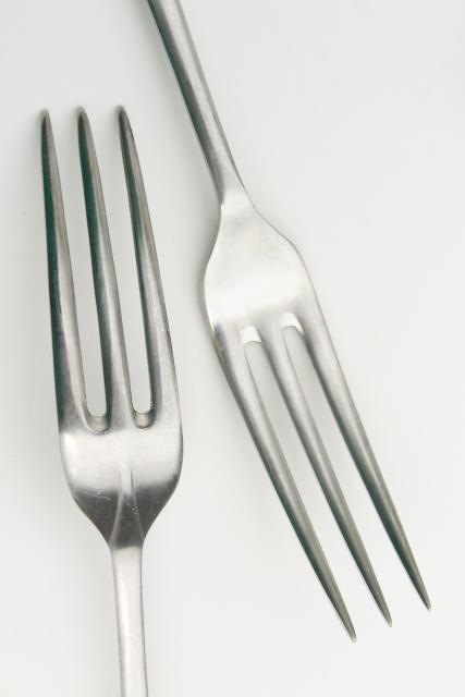 Cooper Bros England Queen Anne stainless steel flatware, antique style forks spoons knives