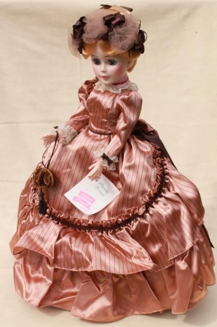Madame Alexander Manet 21 inch portrait doll excellent condition w/ tag, 80s vintage