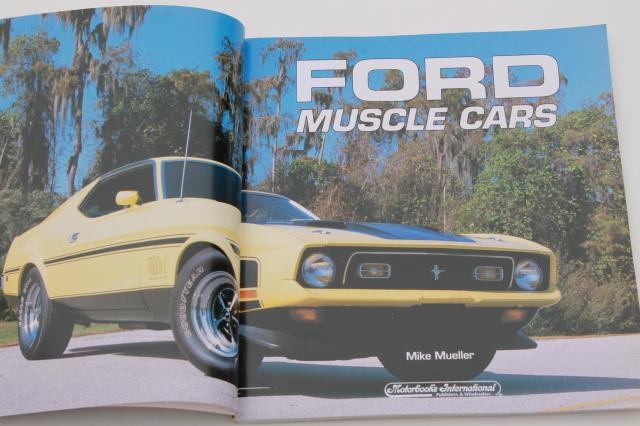 Motorbooks Ford Muscle Cars 1993 - vintage car photos 70s hot rods