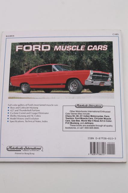 motorbooks ford muscle cars 1993 vintage car photos 70s hot rods. Cars Review. Best American Auto & Cars Review