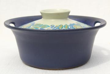 Tor Viking Figgjo Norway Turi design flameware stoneware casserole, Scandinavian modern vintage