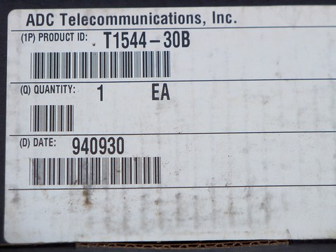 ADC T1544-30B T1 Short Loop Office Repeater