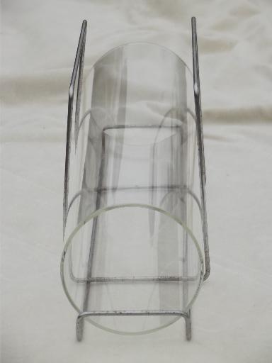 Bake A Round Retro Corning Pyrex Glass Tube Bread Pan W