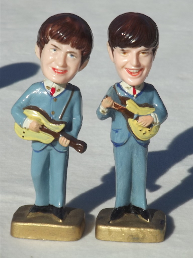 Beatles Figures Cake Toppers