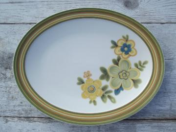 Chestnuthill Noritake Expression china oval platter, vintage Japan