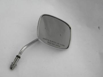 Chrome Harley-Davidson motorcycle right-hand rear-view side mirror