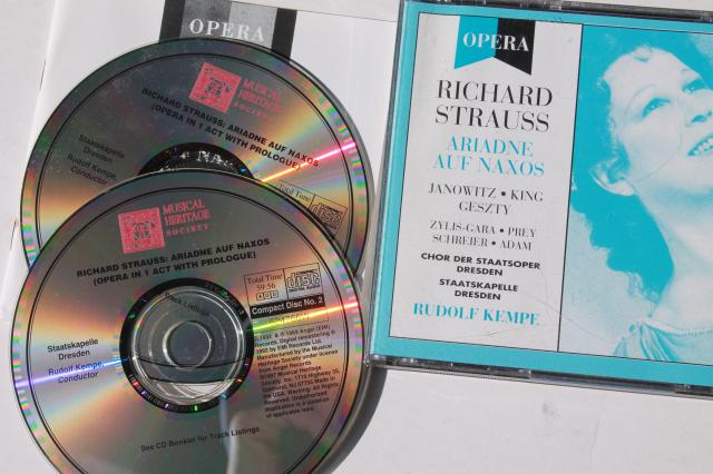 classical opera CDs collection, lot Richard Strauss complete operas
