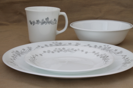 Plates And Bowls Set Dinnerware Patterns