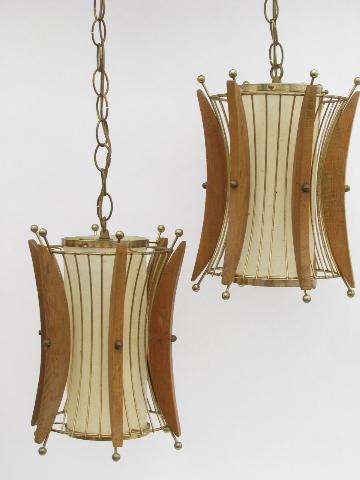 retro lighting, pendant lanterns and swag lamps