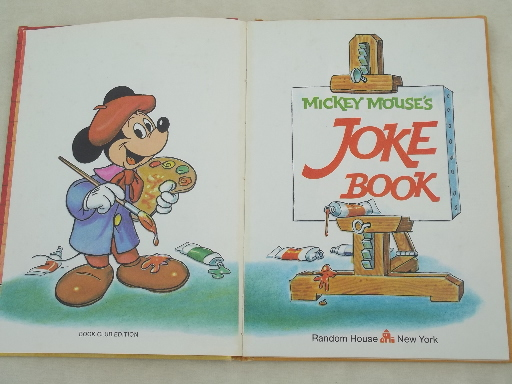 Mickey Mouse Joke Books To Read Picsbud