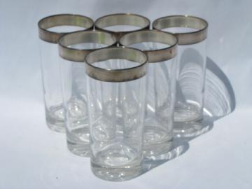 Dorothy Thorpe mid-century modern vintage mod silver band glasses